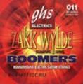 Boomers Струны д/эл. гитар GHS GBZWLO