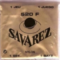 SAVAREZ   520F  CARTE ROUGE
