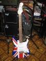 Электрогитара Euphony «Британский флаг»