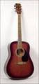 Гитара акустическая ADAMS (Canada) W-4101CWR темно красная