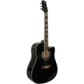 Гитара электроакустическая  Madeira HW-700 BK EA