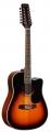 Гитара 12 струнная электроакустическая Martinez FAW -802-12CEQ/T