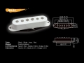 Датчик для электрогитары  BS-01 BK