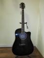 Гитара акустическая Euphony (USA) EW-201 CBK (Вырез)