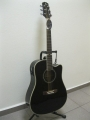 Гитара электро-акустическая AOSEN (Japan) ADC-601-SBK-EQ