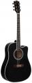 Гитара акустическая PRADO FD 1616 C / BK (Матовая)