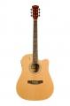 Гитара электроакустическая Elitaro 4110 EQ N