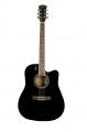 Гитара электроакустическая Elitaro 4110 EQ BK