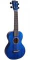 Укулеле концертное Mahalo MH2TBU цвет transparent Blue с чехлом