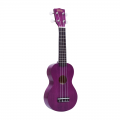Укулеле сопрано Mahalo  MK1PTPP цвет transparent Purple с чехлом