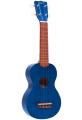 Укулеле сопрано Mahalo MK1TBU цвет transparent Blue с чехлом