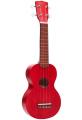 Укулеле сопрано Mahalo MK1TRD цвет transparent  Red с чехлом