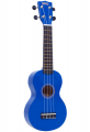 Укулеле сопрано Mahalo MR1BU цвет синий с чехлом
