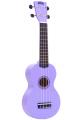 Укулеле сопрано Mahalo MR1PP цвет фиолетовый с чехлом