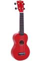 Укулеле сопрано Mahalo MR1RD цвет красный с чехлом