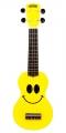 Укулеле сопрано Mahalo U-SMILE YW цвет желтый с чехлом