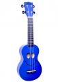 Укулеле сопрано Mahalo U-SMILE BU цвет синий с чехлом