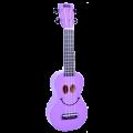 Укулеле сопрано Mahalo U-SMILE PP цвет фиолетовый с чехлом
