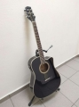 Гитара электро-акустическая Legpap LAG-200-BK-EQ