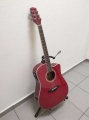 Гитара электро-акустическая Legpap LAG-200-RD-EQ