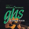 Contact Core Bright Bronze Струны д/акуст. гитар GHS CCBB10