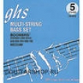 Boomers  Струны д/бас гитар GHS  5M-DYB