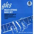 Boomers  Струны д/бас гитар GHS 6ML-DYB