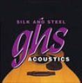 Silk and Steel™ Струны д/акуст. гитар GHS 350