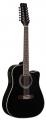 Гитара 12 струнная элеткроакустическая Martinez FAW-802-12CEQ/B