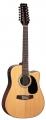 Гитара 12 струнная электроакустическая Martinez FAW-802-12CEQN