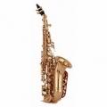 Сопрано-саксофон Vibra (France) VSS-S20G-C (Curved)/ New Model S
